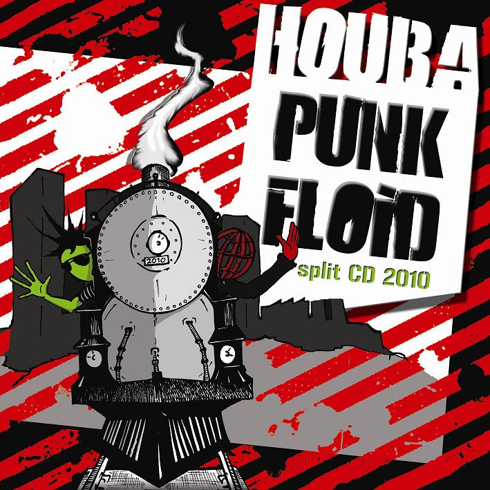 PUNK FLOID / HOUBA Split CD 2010